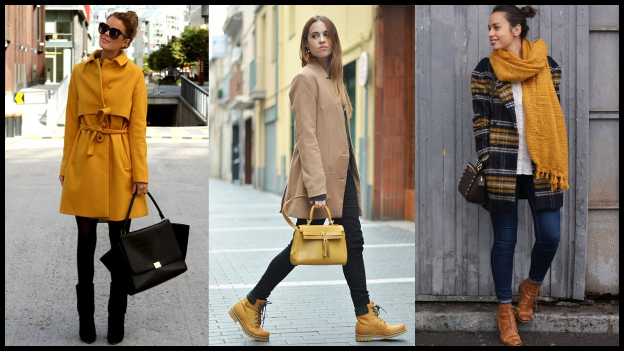 How To Wear Mustard Color Combinations Youtube