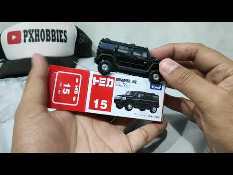 TOMICA 15 HUMMER H2 - UNBOXING REVIEW