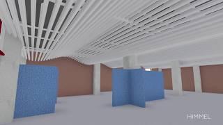 Реечный потолок - инновация в дизайне