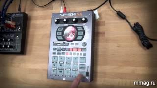 mmag.ru: сэмплер Roland SP-404SX - видео-обзор и демо