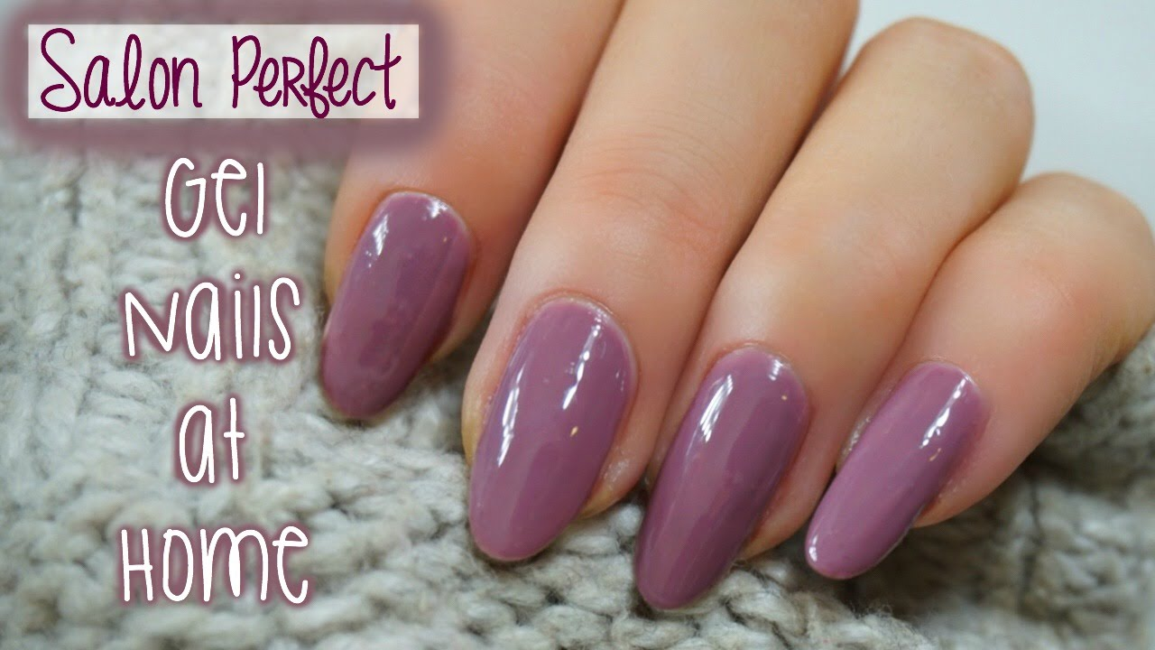 Salon Perfect Gel Nails At Home Madam Glam
