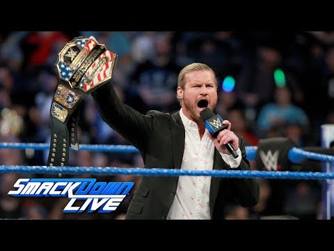Dolph Ziggler celebrates his United States Title victory: SmackDown LIVE, Dec. 19, 2017