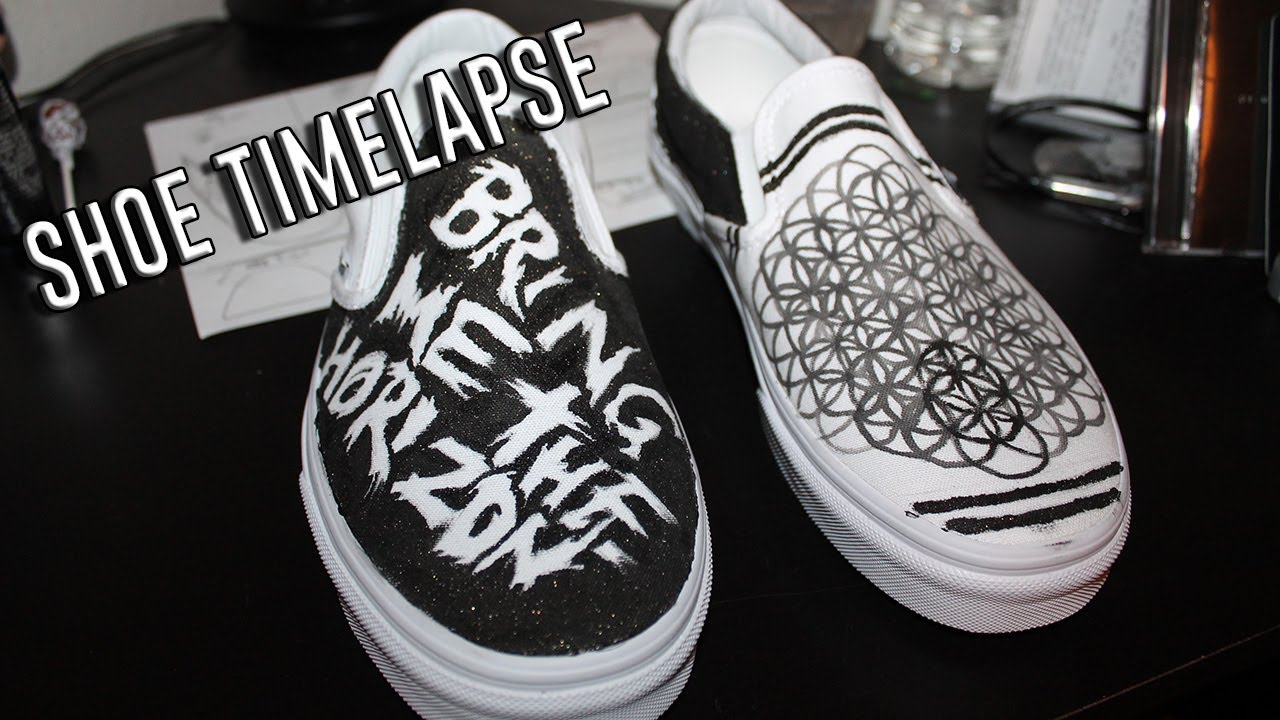 Bring Me The Horizon Vans Shoes