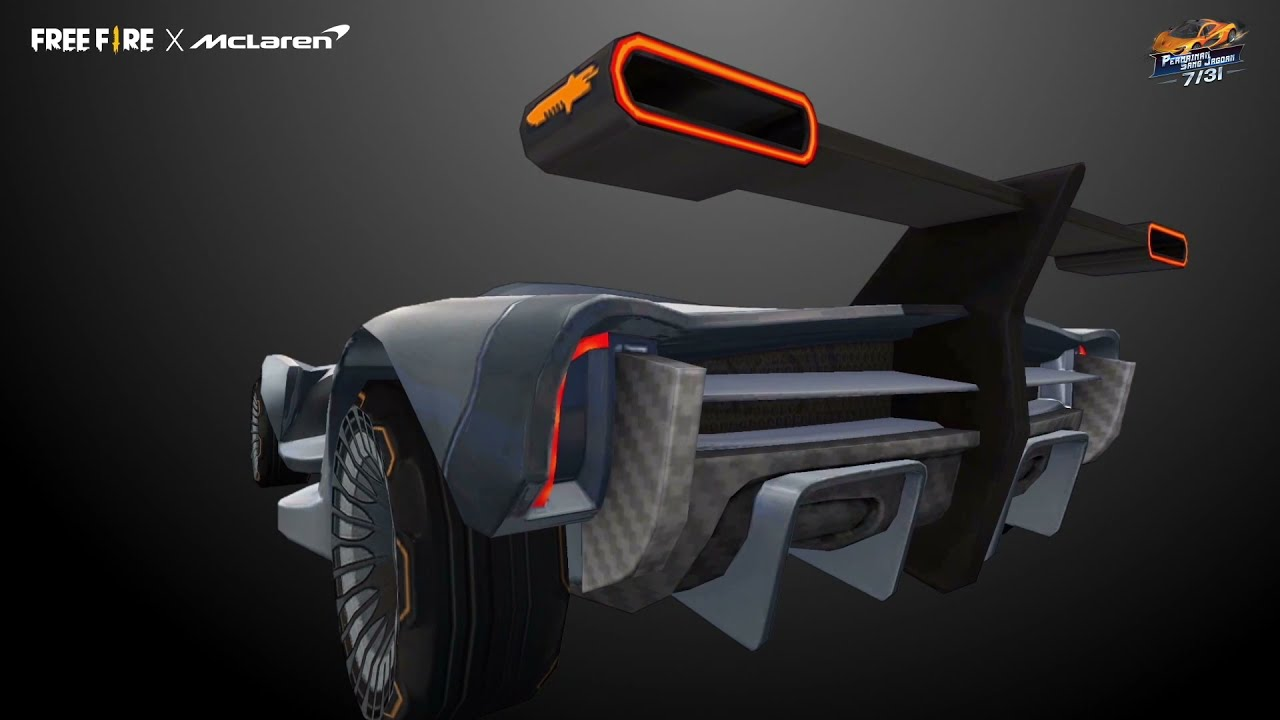 McLaren Project FF Concept Car Showcase | Garena Free Fire Indonesia