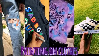 People Painting on Clothes for 6.38 Minutes Straight | ART Challenge | 2019