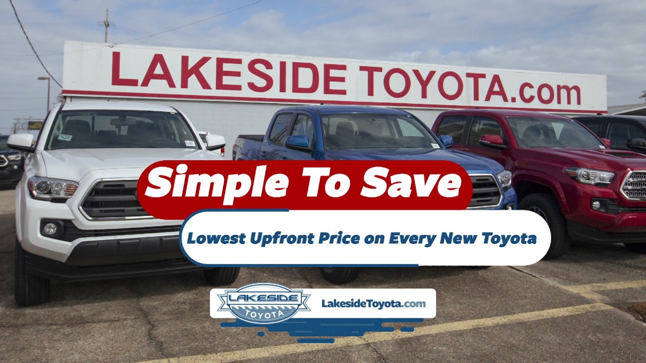 Attractive Lakeside Toyota   #1 Volume Toyota Dealer   Greater New Orleans