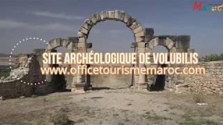 Site archéologique de Volubilis au Maroc
