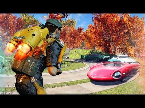 Fallout 4 New Quest SPARKYS QUANTUM ADVENTURE & Crazy Mods ! (Fallout 4 Best Mods)