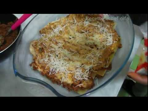 lasagne-avec-viande-hachée