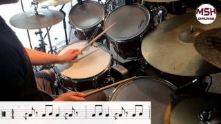 """How to Play """"Down With The Sickness"""" Accurately -- Drums"""