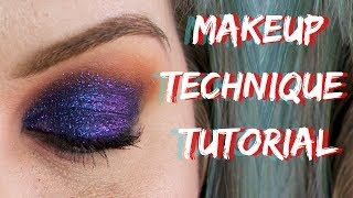 Makeup Technique Tutorial | Sapphire & Chicory