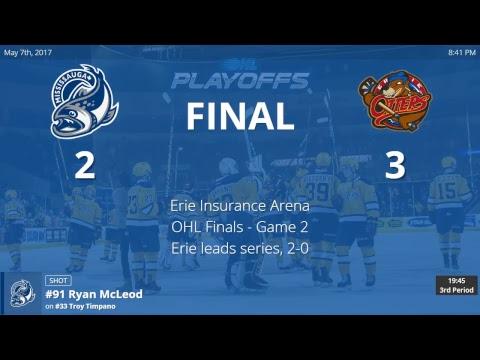 Mississauga Steelheads vs. Erie Otters - Game 2  - OHL Championship Finals