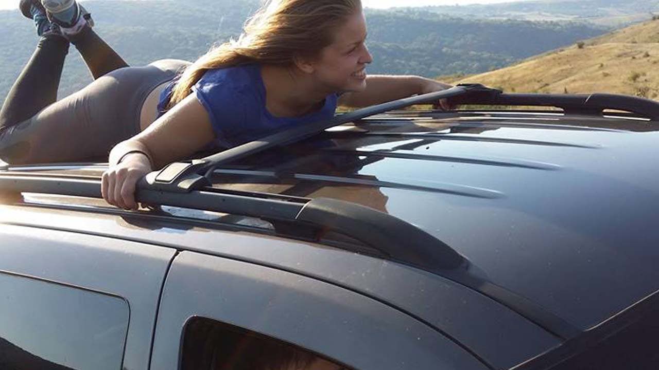 Stuntman On Car Roof - Youtube-5837