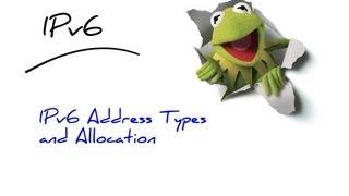 2- IPv6 Address Types and Allocation شرح