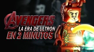 LEGO La Era de Ultron en 2 Minutos