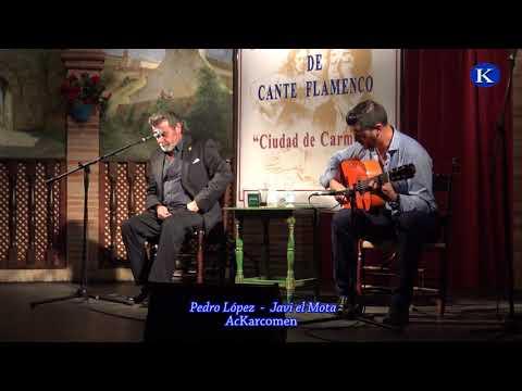 フラメンコ Pedro Lopez y Javi El Mota por solea  – XXXIV Concurso Nacional Cante Flamenco – Carmona