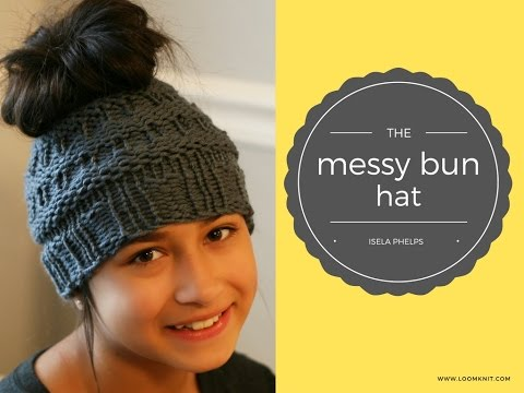The Messy Bun Hat Video - YouTube 0c27ec3d508