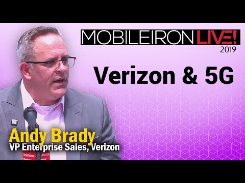Verizon & 5G | A @SolutionsReview Interview with Andy Brady