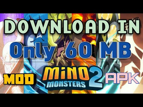 Only 60 MB How To Install Mino Monsters 2 Mod Apk On Android In Only 60 MB