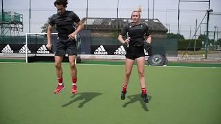 Fortitude Hockey Goalkeeping - Dynamic Warm Up - Plyometrics