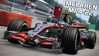 McLaren MP4-22 | Assetto Corsa German Gameplay [HD] Spa
