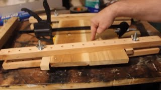 There are  clamps in my 2X4!!!