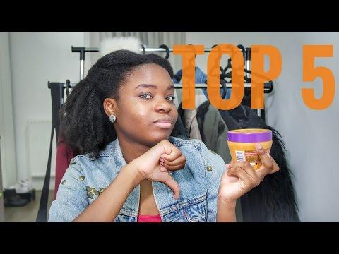 Top 5 Produits Cheveux Afro Les Moins Aimés (2016)
