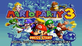 Mario Party 3 (N64) - Story Mode Longplay