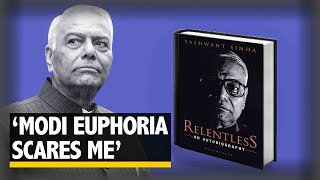 Yashwant Sinha Gets Candid About His Mistakes, Modi, the BJP, and son Jayant