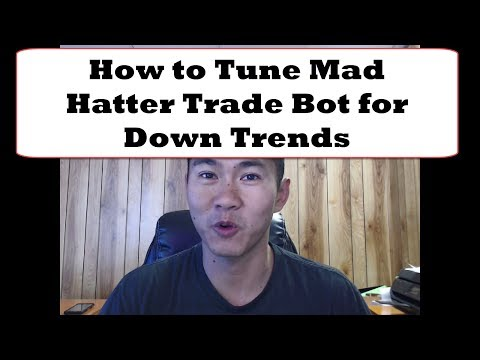 How to Tune Mad Hatter Bitcoin Autotrade Bot for Down Trends