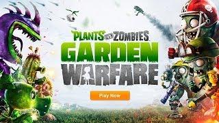 Plants vs. Zombies: Garden Warfare - Первый Взгляд