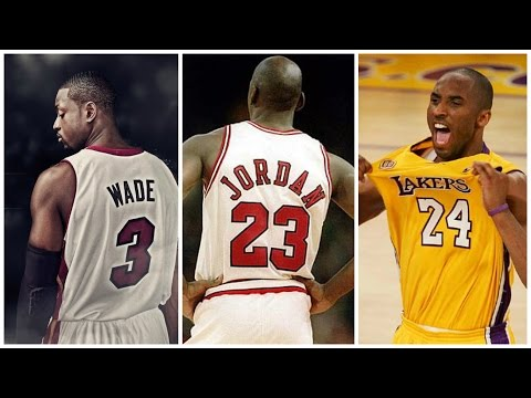Best NBA Players by Jersey Number [1-30]