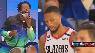 Damian Lillard Disrespected By Patrick Beverly & Paul George After Missed Game Winning Free Throws!