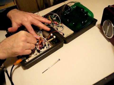 4017 SEQ (LM358 LFO gated clock) LM324 VCO - thru LM358 VCA EG