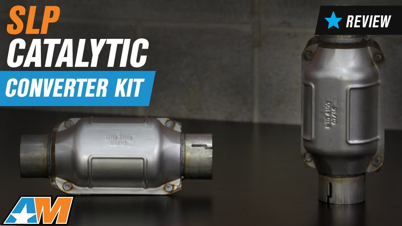 How to Install SLP High Flow Catalytic Converter Kit on your