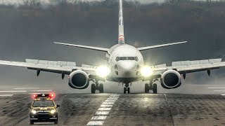 "BOEING 737 gets CHASED by a FOLLOW ME CAR on the RUNWAY . ""STOP! I told you to FOLLOW ME!"" (4K)"