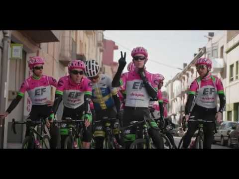 EF Education First - Drapac p/b Cannondale: #PinkArgyle is on the move