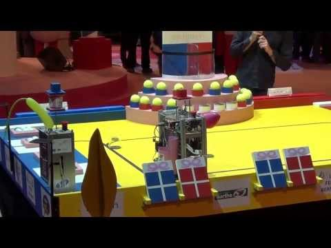 2013 - Princess'botik (ESIAL) vs Robot-X - Coupe de France de robotique 2013