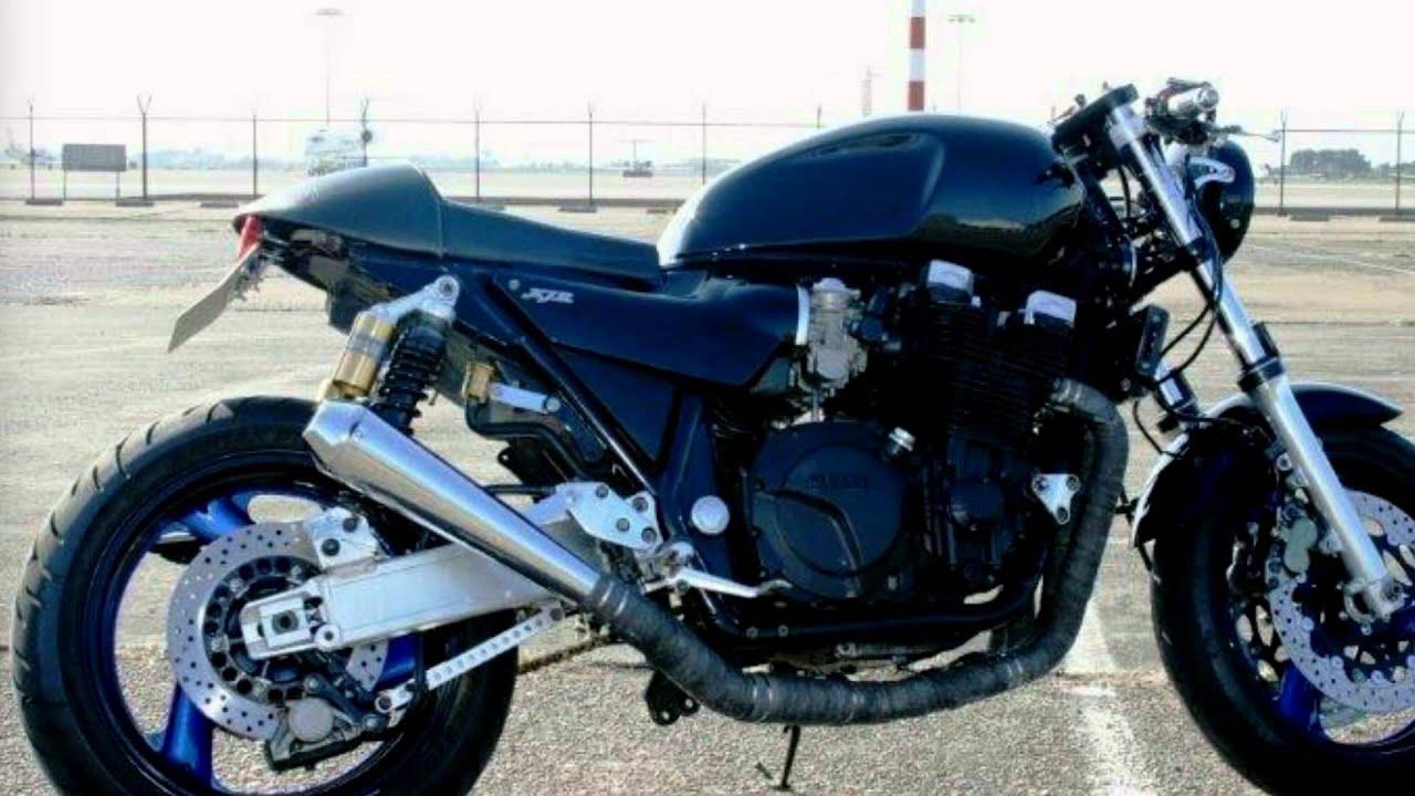 XJR 1200 YAMAHA CAFE RACER - YouTube
