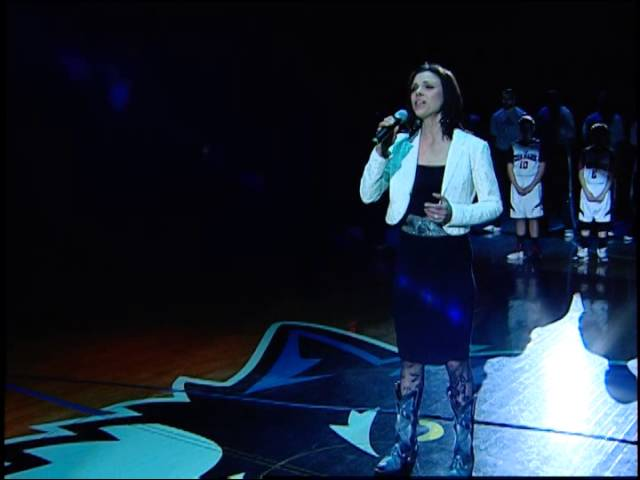 Dana Ketter (Pierce)- National Anthem - Minnesota Timberwolves