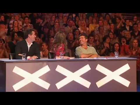 Paul Potts on Britain's Got Talent sings Nessun Dorma