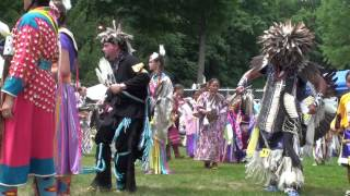 American Indian Music and Dance at Pow Wow - July 2010