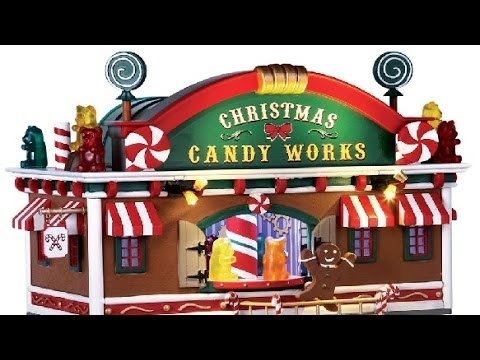 Lemax Christmas Candy Works Village Decorations Ideas For