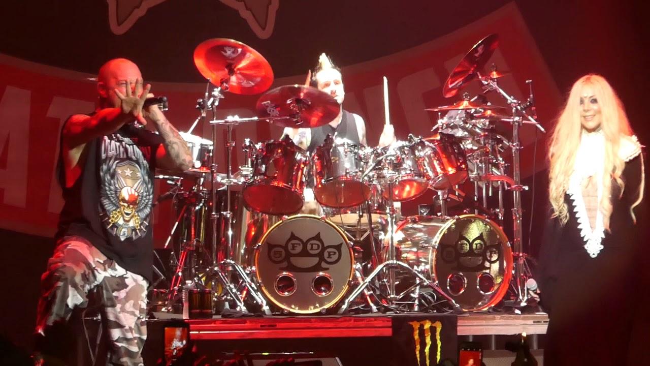 "Download ""The Bleeding"" Five Finger Death Punch & Maria Brink@Rock Allegiance Camden, NJ 10/7/17"