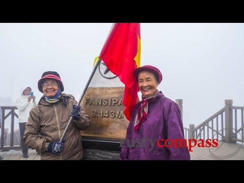 Scaling Fansipan, Sapa, Vietnam's highest peak - by cable car