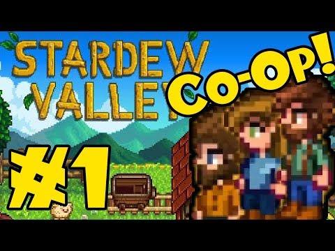 STARDEW VALLEY: Co-Op Multiplayer! - Episode 1