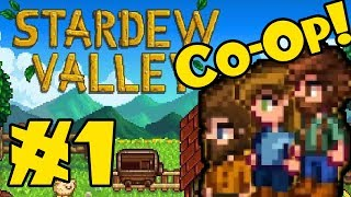 STARDEW VALLEY: Co-Op Multiplayer! - Episode 1