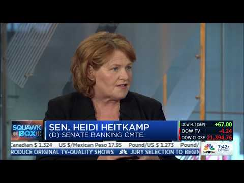 CNBC Squawk Box: Senator Heidi Heitkamp Guest Hosts