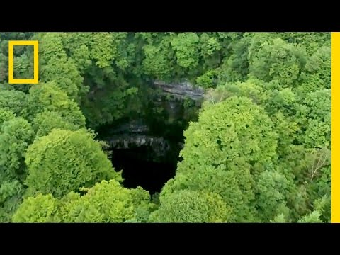 49 Sinkholes Found in China Cluster | National Geographic
