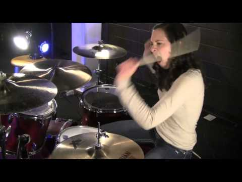 Kayleigh- Mayday Parade- Somebody That I Used To Know (Drum Cover)